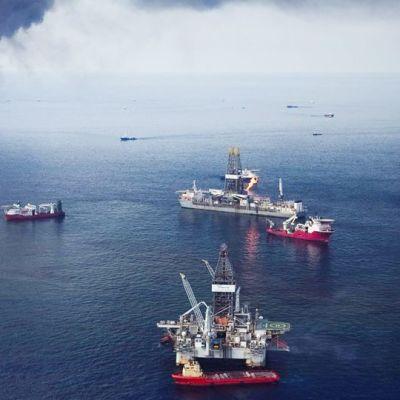 Deepwater Horizonin öljyvuodon leviämistä yritettiin estää muun muassa polttamalla sitä 19. kesäkuuta 2010.