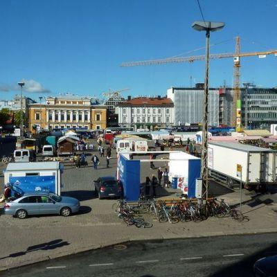 Turku kauppatori toriparkki