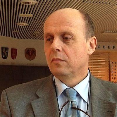 Vaasan sairaanhoitopiirin johtaja Göran Honga.