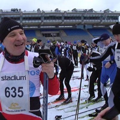 Inkoolainen Tom Wicht on osallistunut jokaiseen Finlandia-hiihtokilpailuun.