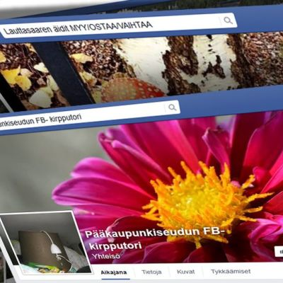 Facebook-sivuja