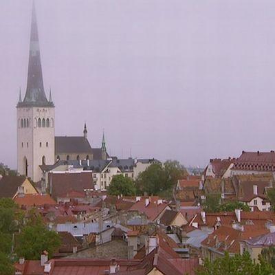 Näkymä Tallinnan Vanhaan kaupunkiin.