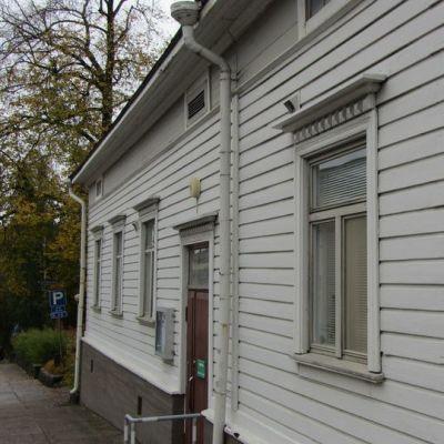 Raittiustoimiston talo Kirkkokadulla Lappeenrannassa