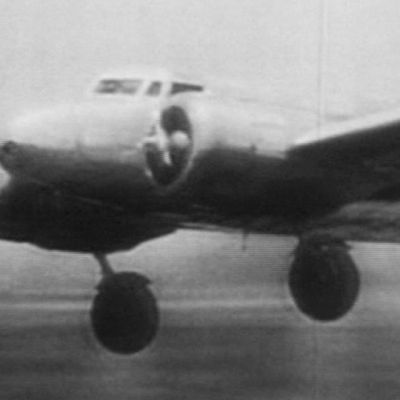 Earheartin lentokone.