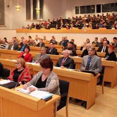 Rovaniemen uusi kaupunginvaltuusto 2013