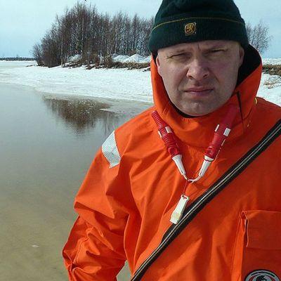 Janne Isometsä Perämeren rannalla