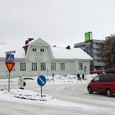 Vanha rautatieasemarakennus
