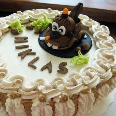 Niklaksen neljävuotis -syntymäpäiväkakku