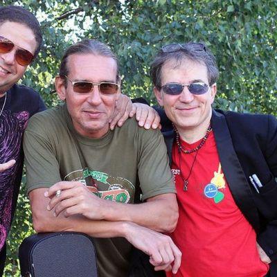 Kuvassa vasemmalta: Andrew Black, Jarmo Puhakka sekä Robin Bibi
