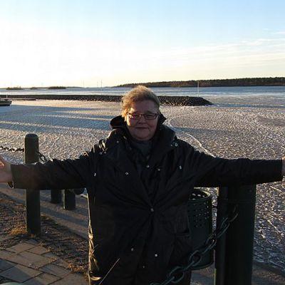 Arja Havakka Perämeren rannalla, Kemin sisäsatamassa