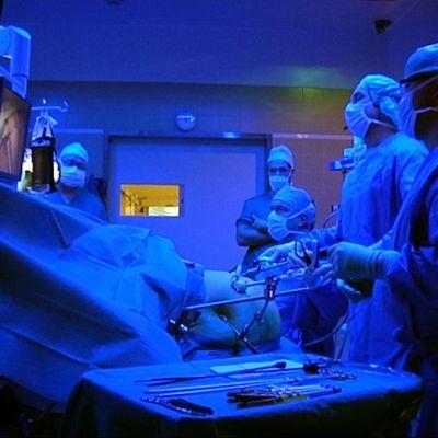 Lihavuusleikkaus Vaasan keskussairaalassa.