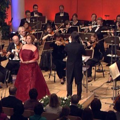 Lappeenrannan valtakunnallisten laulukilpailujen finaali vuonna 2008.
