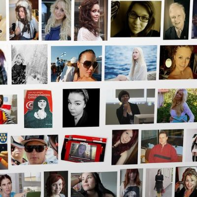 Bloggaajien kuvia Googlen kuvahaussa.