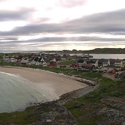 Pykeijan kylä Pohjois-Norjassa.