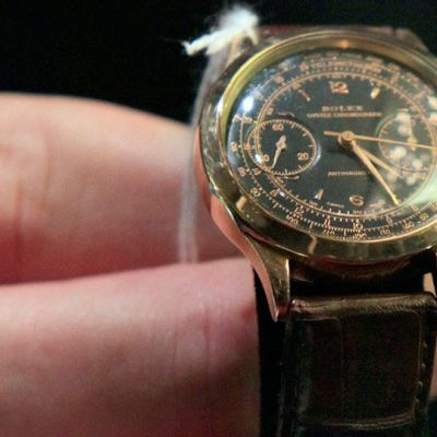 Yhdysvaltalaisen sijoittajan ja liikemiehen Bernard Madoffin Rolex-merkkinen rannekello.