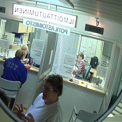 Kanta-Hämeen keskussairaalan Riihimäen yksikön vastaanottoaula