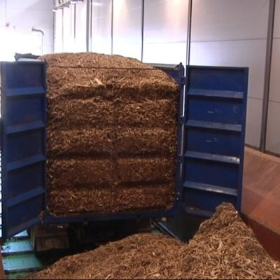 Hakekuorma Vaskiluodon biokaasutuslaitoksella