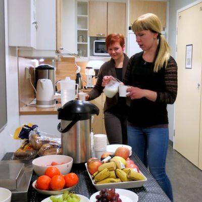 Suomen Punaisen Ristin vapaaehtoistyöntekijät Rovaniemellä