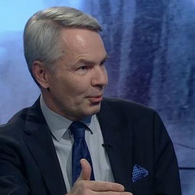 Pekka Haavisto A-Talkissa 12.2.