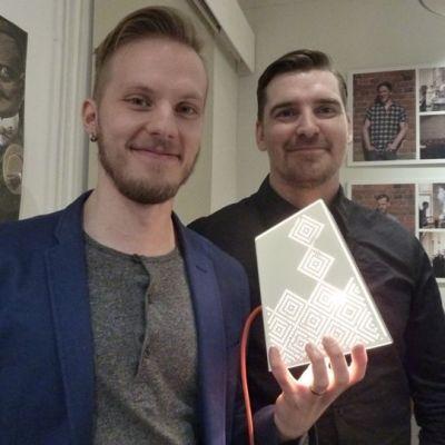 Jaakko Siltanen ja Matti Sandberg (oikealla)