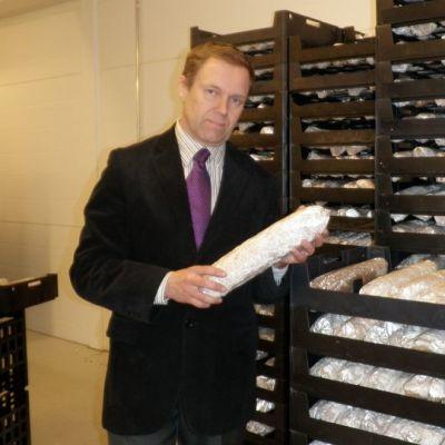 Toimitusjohtaja Markku Leppänen.