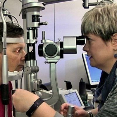 Silmien tutkimus