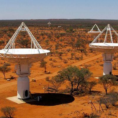 Radioteleskooppi Australia.