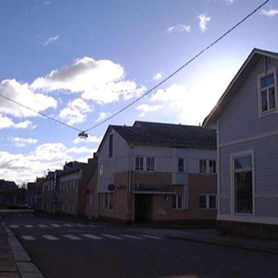 Hangon kaduilla on talvisin hiljaista.