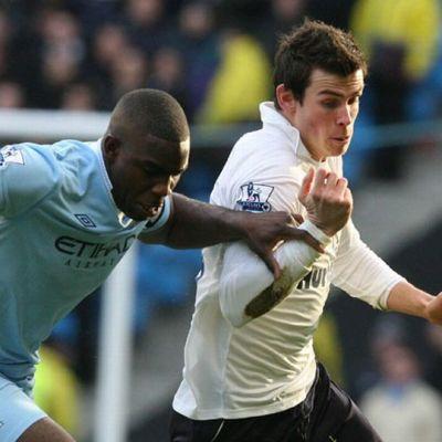 Micah Richards ja Gareth Bale