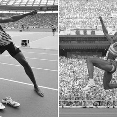 Usain Bolt nousi yleisurheilun MM-mitaleissa Carl Lewisin rinnalle. Molemmilla on niitä kymmenen.