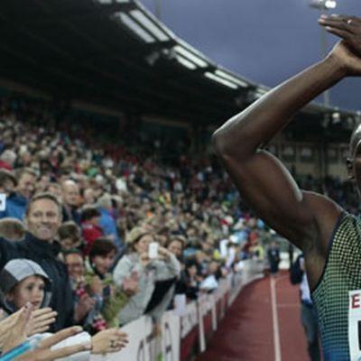 Usain Bolt villitsee yleisurheiluyleisön missä päin tahansa maailmaa. Tässä tapauksessa Oslossa.