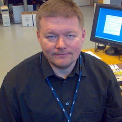 Timo Huovinen kuvassa