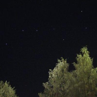 Otavan tähtikuvio yötaivaalla