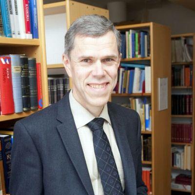 Eksegetiikan professori Lauri Thurén.
