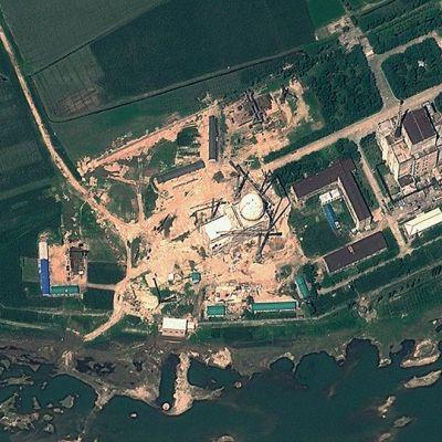 Satelliittikuva pohjoiskorealaisesta ydintutkimuskeskuksesta.s