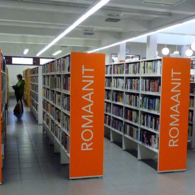 Pielaveden kirjasto.