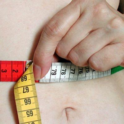 Vyötärönympäryksen mittaus