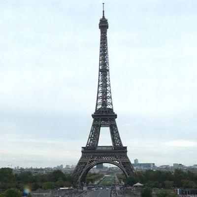 Eiffel-torni Pariisissa.