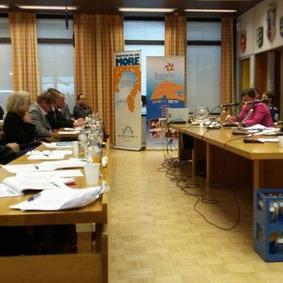 Tornion kaupunginvaltuusto, järjestelykeskuskokous