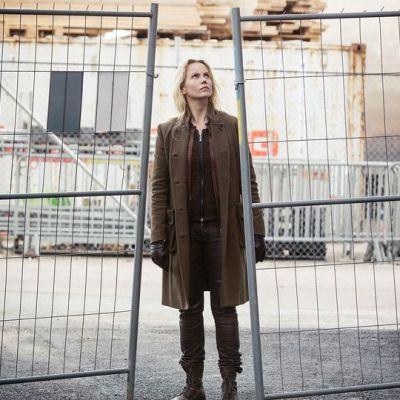 Sofia Helin näyttelee Saga Norénia Silta -sarjassa.
