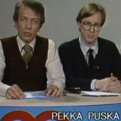Kuvakaappaus Terveyden avaimet ohjelmasta 23.4.1982.