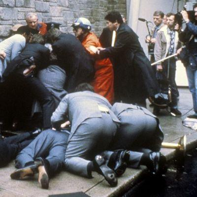 Ronald Reaganin murhayritys maaliskuussa 1981.