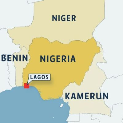 Kartta Nigerian sijainnista.