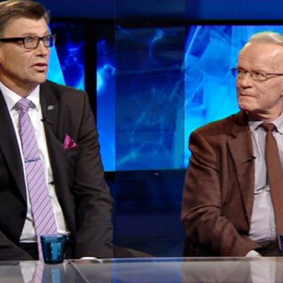 Matti Nissinen ja Lauri Tarasti .