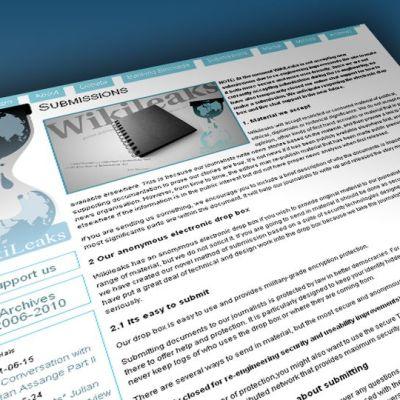 Wikileaks -sivusto.