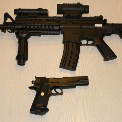 Muovikuula-aseita