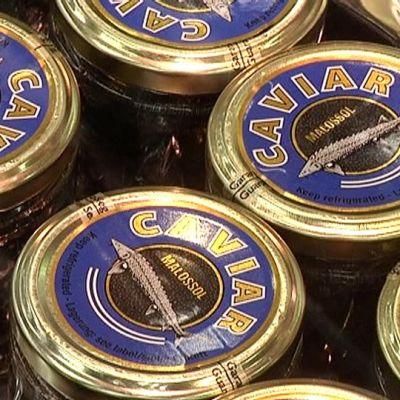 Kaviaaria Laplandia marketissa