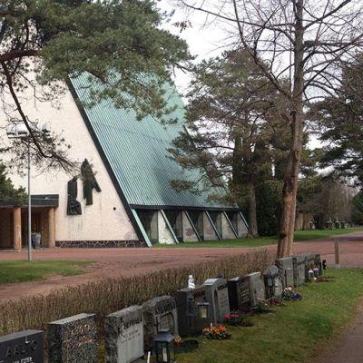 Käppärän haustausmaan kappeli