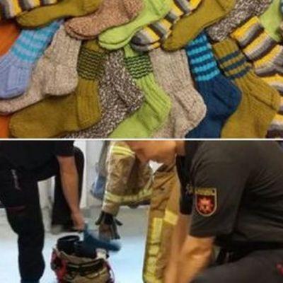 villasukkia ja palomiehiä