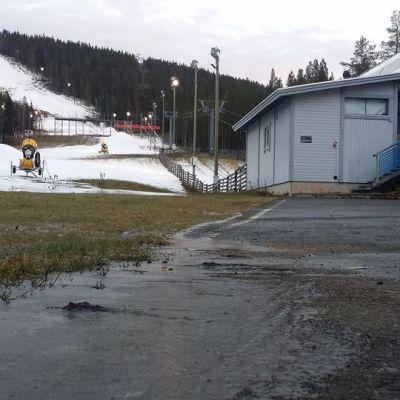 Levin hiihtokeskus kuvassa